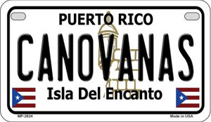 Canovanas Puerto Rico State Wholesale Motorcycle License Plate MP-2824