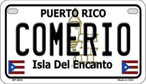 Comerio Puerto Rico State Wholesale Motorcycle License Plate MP-2832