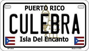 Culebra Puerto Rico State Wholesale Motorcycle License Plate MP-2834 (MP-2834)