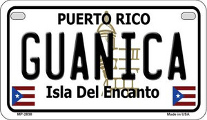 Guanica Puerto Rico State Wholesale Motorcycle License Plate MP-2838