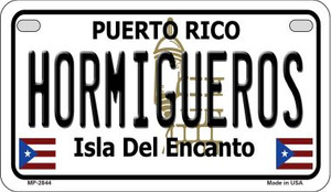 Hormigueros Puerto Rico State Wholesale Motorcycle License Plate MP-2844