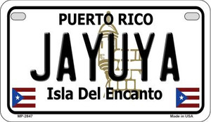 Jayuya Puerto Rico State Wholesale Motorcycle License Plate MP-2847