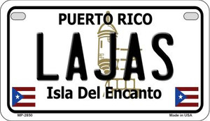 Lajas Puerto Rico State Wholesale Motorcycle License Plate MP-2850