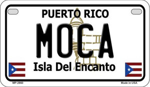 Moca Puerto Rico State Wholesale Motorcycle License Plate MP-2860