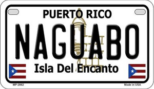 Naguabo Puerto Rico State Wholesale Motorcycle License Plate MP-2862