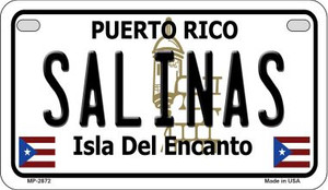Salinas Puerto Rico State Wholesale Motorcycle License Plate MP-2872