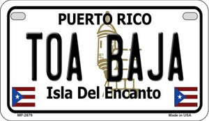 Toa Baja Puerto Rico State Wholesale Motorcycle License Plate MP-2879