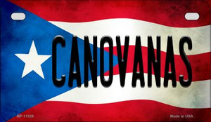 Canovanas Puerto Rico State Flag License Plate Wholesale Motorcycle License Plate MP-11329