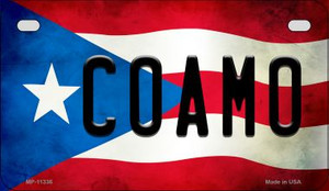 Coamo Puerto Rico State Flag License Plate Wholesale Motorcycle License Plate MP-11336