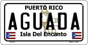 Aguada Puerto Rico State Wholesale Bicycle License Plate BP-2811