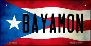Bayamon Puerto Rico State Flag License Plate Wholesale Bicycle License Plate BP-11325