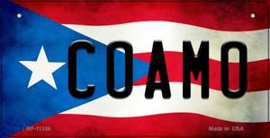 Coamo Puerto Rico State Flag License Plate Wholesale Bicycle License Plate BP-11336