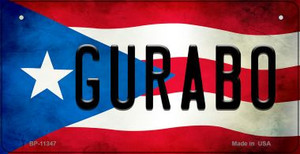 Gurabo Puerto Rico State Flag License Plate Wholesale Bicycle License Plate BP-11347