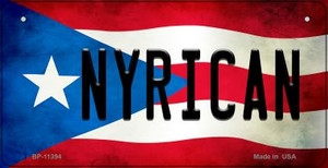 Nyrican Puerto Rico State Flag License Plate Wholesale Bicycle License Plate BP-11394