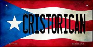 Cristorican Puerto Rico State Flag License Plate Wholesale Bicycle License Plate BP-11396