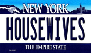 Housewives New York State License Plate Wholesale Magnet M-3167