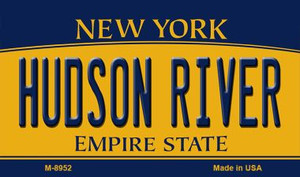Hudson River New York State License Plate Wholesale Magnet M-8952