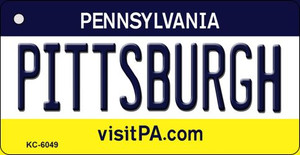 Pittsburgh Pennsylvania State License Plate Wholesale Key Chain KC-6049