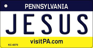 Jesus Pennsylvania State License Plate Wholesale Key Chain KC-6070