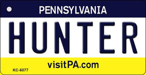 Hunter Pennsylvania State License Plate Wholesale Key Chain KC-6077