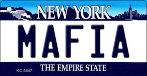 Mafia New York State License Plate Wholesale Key Chain KC-3547