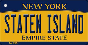 Staten Island New York State License Plate Wholesale Key Chain KC-8947