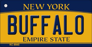 Buffalo New York State License Plate Wholesale Key Chain KC-8945
