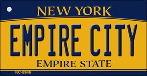 Empire City New York State License Plate Wholesale Key Chain KC-8946