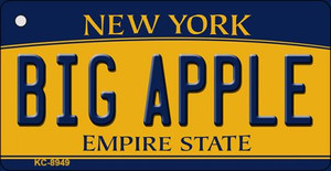 Big Apple New York State License Plate Wholesale Key Chain KC-8949
