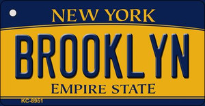 Brooklyn New York State License Plate Wholesale Key Chain KC-8951