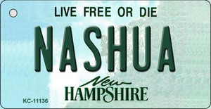 Nashua New Hampshire State License Plate Wholesale Key Chain KC-11136