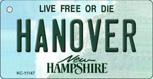 Hanover New Hampshire State License Plate Wholesale Key Chain KC-11147