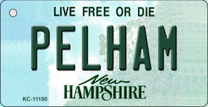 Pelham New Hampshire State License Plate Wholesale Key Chain KC-11150