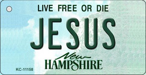 Jesus New Hampshire State License Plate Wholesale Key Chain KC-11158