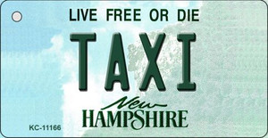 Taxi New Hampshire State License Plate Wholesale Key Chain KC-11166