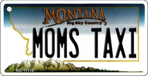 Moms Taxi Montana State License Plate Novelty Wholesale Key Chain KC-11115