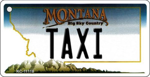 Taxi Montana State License Plate Novelty Wholesale Key Chain KC-11118