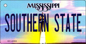 Southern State Mississippi State License Plate Wholesale Key Chain KC-6553