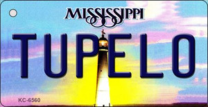 Tupelo Mississippi State License Plate Wholesale Key Chain KC-6560