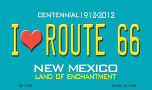 I Love Route 66 New Mexico Novelty Wholesale Magnet