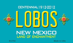 Lobos New Mexico Novelty Wholesale Magnet