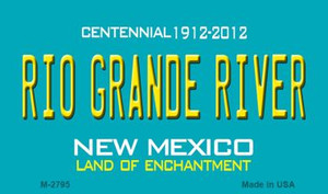 Rio Grande River New Mexico Novelty Wholesale Magnet