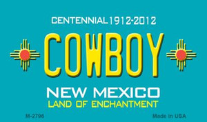 Cowboy New Mexico Novelty Wholesale Magnet