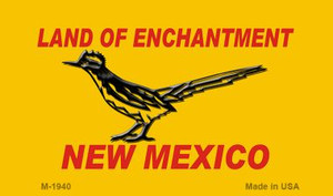 Road Runner Yellow New Mexico Novelty Wholesale Magnet