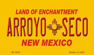 Arroyo Seco Yellow New Mexico Novelty Wholesale Magnet