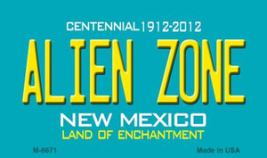 Alien Zone New Mexico Novelty Wholesale Magnet
