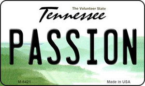 Passion Tennessee State License Plate Wholesale Magnet M-6421