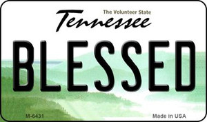 Blessed Tennessee State License Plate Wholesale Magnet M-6431