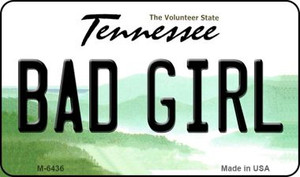 Bad Girl Tennessee State License Plate Wholesale Magnet M-6436