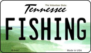 Fishing Tennessee State License Plate Wholesale Magnet M-6447
